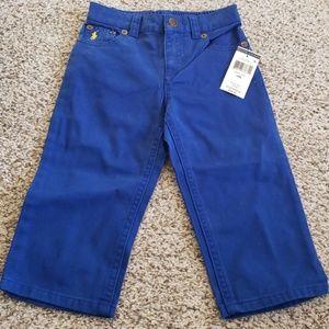 NWT Ralph Lauren Blue 18mo Pants